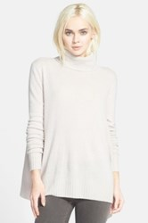 Velvet By Graham And Spencer Classic Turtleneck Sweater Pink