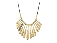 Lucky Brand Indian Spice Gold Fan Necklace Gold Necklace