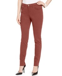 Styleandco. Style Co. Curvy Fit Colored Wash Skinny Jeans Only At Macy's Terracotta