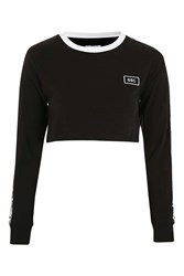 Escapology Crop Sports Tee By Black