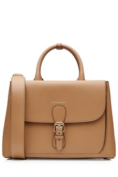 Burberry Shoes And Accessories Leather Tote Brown