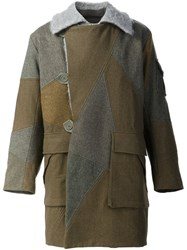 Christopher Raeburn 'Motorcycle' Coat Green