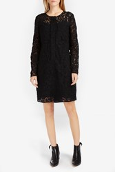 Victoria Beckham Women S Embroidered Tulle Dress Boutique1 Black