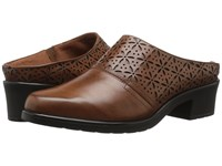 Walking Cradles Claire Luggage Cashmere Women's Slip On Shoes Brown