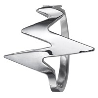 Delphine Leymarie Amour Heartbeat Ring Silver