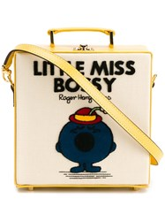 Olympia Le Tan Little Miss Bossy Shoulder Bag Yellow And Orange