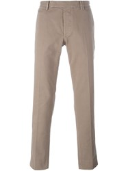 Fendi Classic Chinos Nude And Neutrals