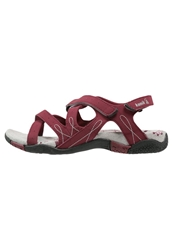 Kamik Bali Walking Sandals Red Dark Red