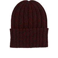 The Elder Statesman Women's Short Bunny Echo Hat Burgundy
