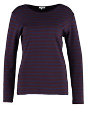 Armor Lux Long Sleeved Top Penombre Voilier Bordeaux