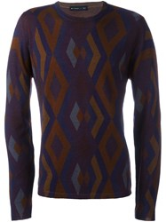 Etro Diamond Pattern Jumper Multicolour