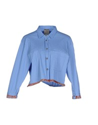 Alice San Diego Shirts Shirts Women Sky Blue