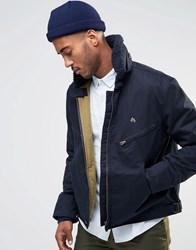 Farah Flight Jacket Navy
