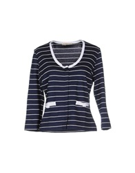 Just For You Cardigans Dark Blue