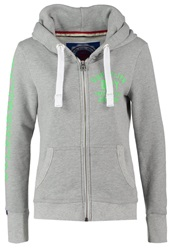 Superdry Track And Field Tracksuit Top Grey Melange