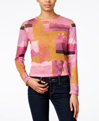 Bar Iii Printed Top Only At Macy's Cathay Spice Combo