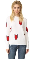 Rag And Bone Jackson Pullover Ivory