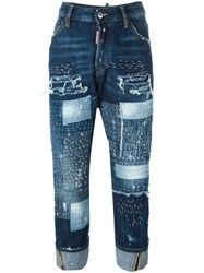 Dsquared2 'Workwear' Jeans Blue