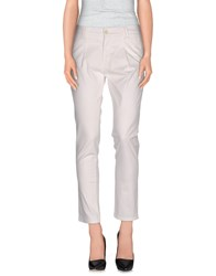 Twenty Easy By Kaos Trousers Casual Trousers Women White