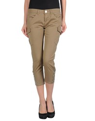 Toy G. Trousers 3 4 Length Trousers Women Military Green