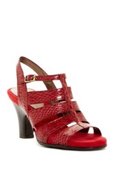 Aerosoles Me N You Strappy Sandal Red