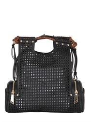 Corto Moltedo Priscilla Woven Faux Leather Bag