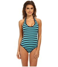 Carve Designs Kailua Full Piece Monaco Women's Swimsuits One Piece Clear