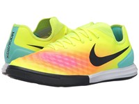 Nike Magistax Finale Ii Ic Volt Total Orange Pink Blast Black Men's Shoes Yellow