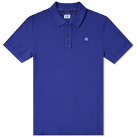 C.P. Company Classic Patch Polo Blue