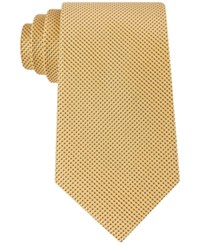 Tommy Hilfiger Men's Textured Micro Dot Tie Yellow