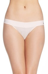 Betsey Johnson Women's 'Forever Perfect' Thong Champagne Kiss