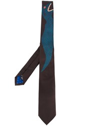 Paul Smith 'Dino' Tie Black