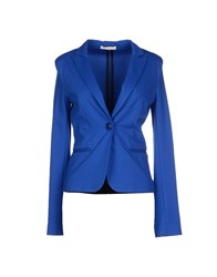 Nioi Suits And Jackets Blazers Women Bright Blue