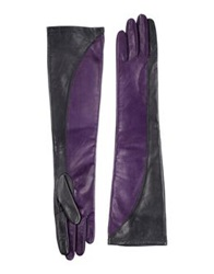 Space Style Concept Gloves Purple