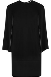 Givenchy Mini Dress In Black Stretch Crepe