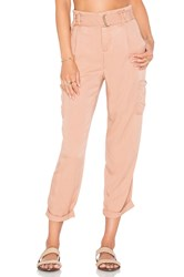 Free People Soft Cargo Pant Peach