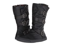 Blowfish Pie Black Old Ranger Black Pisa Pu Women's Pull On Boots