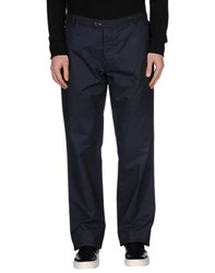 Blu Byblos Trousers Casual Trousers Men Dark Blue