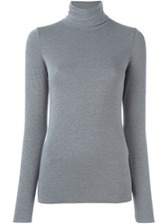 Roberto Collina Turtleneck Sweater Grey
