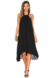 Pink Stitch Allegra Dress Black