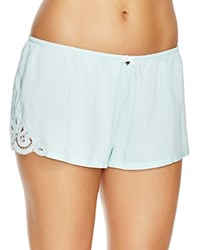 Pj Salvage Challe Tap Shorts Mint