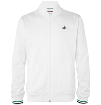 Boast Knitted Tennis Jacket White