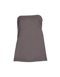 Annarita N. Tube Tops Dark Brown