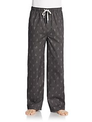 Psycho Bunny Printed Lounge Pants Black