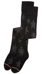 Stance Cosmo Over The Knee Socks Black