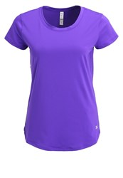 Under Armour Fly By Basic Tshirt Deep Orchid Dark Purple