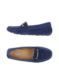 Ice Iceberg Footwear Moccasins Women Blue