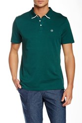 Ag Jeans Green Label The Fade Short Sleeve Polo