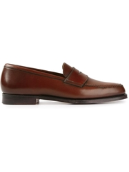 Crockett Jones Crockett And Jones Classic Penny Loafers Brown