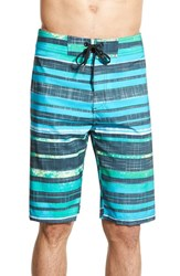 Men's Prana 'Sediment' Stretch Board Shorts Baja Blue